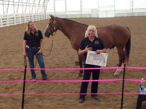 Tina Romine, Equine Education Specialist