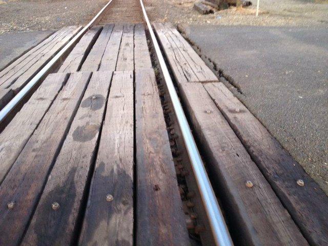 Railroad Track Crossing