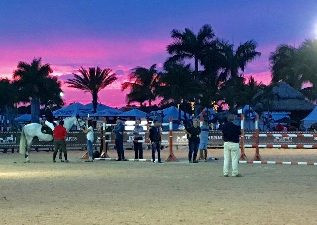 Sunset Warm-up