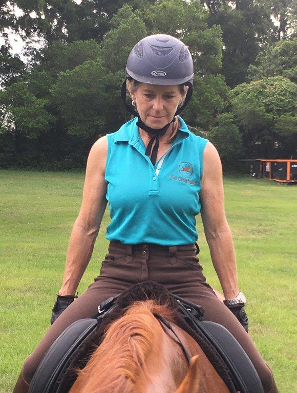 Rider in Saddle