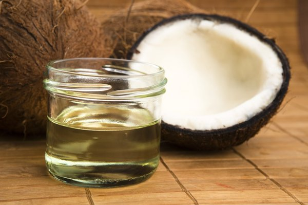 Coconut meal for horses