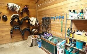 Spring Green Cleaning The Tack Room And Barn