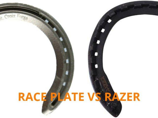 Race plate vs Razer Horseshoe