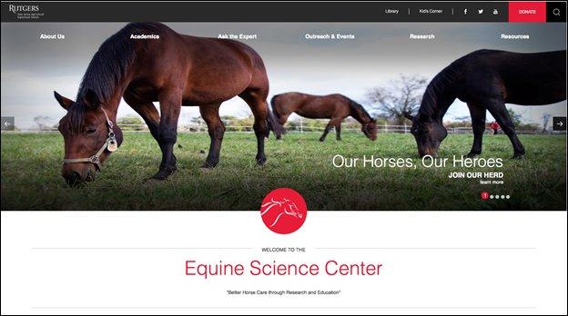 Rutgers ESC Website redesign